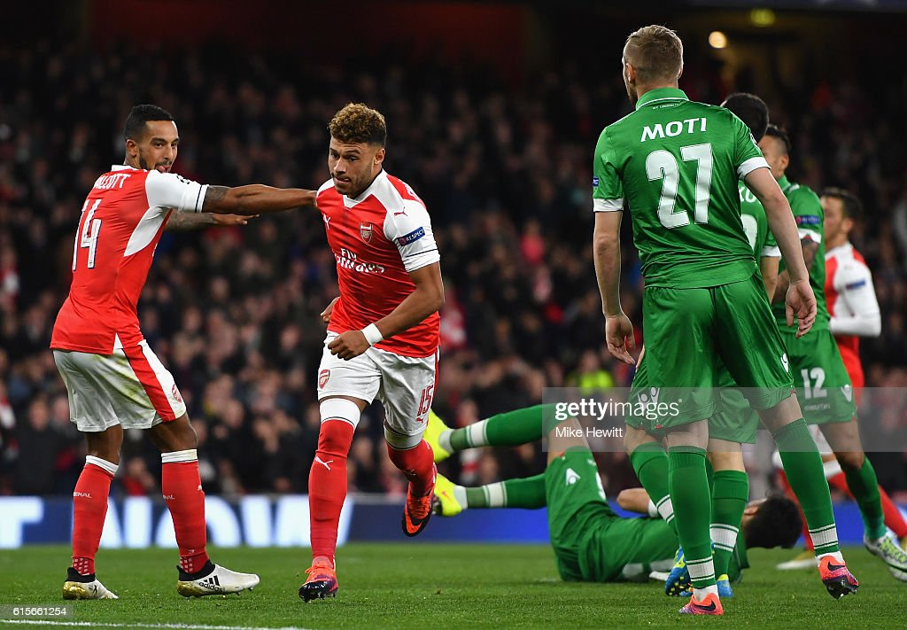 Arsenal FC v PFC Ludogorets Razgrad - UEFA Champions League : News Photo