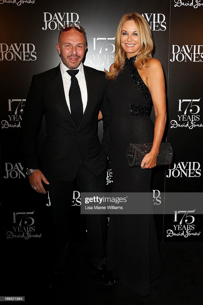 Alex Perry and Charlotte Dawson attends the David Jones 175 year celebration at David Jones on May 23, 2013 in Sydney, Australia.
