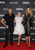 Alex Perry Kelly Osbourne and Jennifer Hawkins pose for the announcement that Kelly Osbourne will be Australia's Next Top Model guest judge at the...
