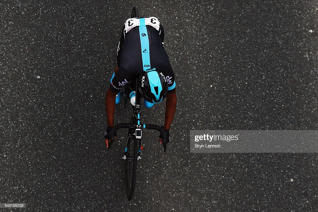 Alex Peters of Great Britain and Team SKY in action during the Elite Men's 2016 National Road Championships on June 26, 2016 in Stockton-on-Tees, England.