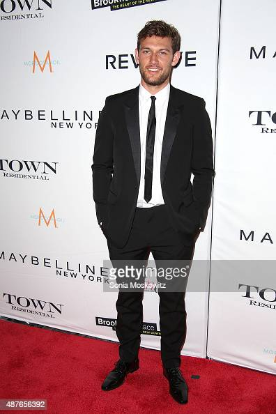 Alex Pettyfer attends The Daily Front Row's Third Annual Fashion Media Awards at the Park Hyatt New York on September 10 2015 in New York City