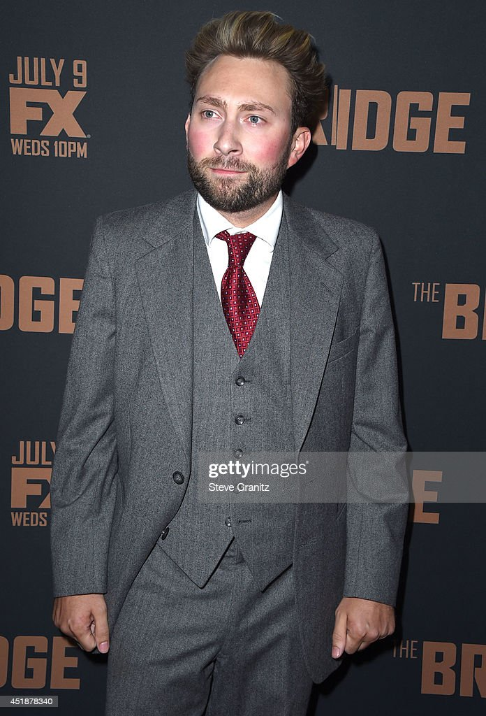 Alex Plank arrives at the FX's 'The Bridge' Season 2 Premiere at Pacific Design Center on July 7, 2014 in West Hollywood, California.