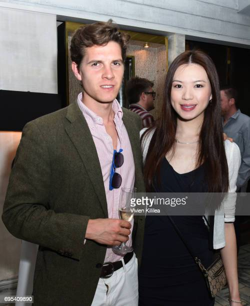 Alex Polunin and Alicia Liu attend BAFTA Honours Riot Games with Special Award at The London West Hollywood on June 12 2017 in West Hollywood...