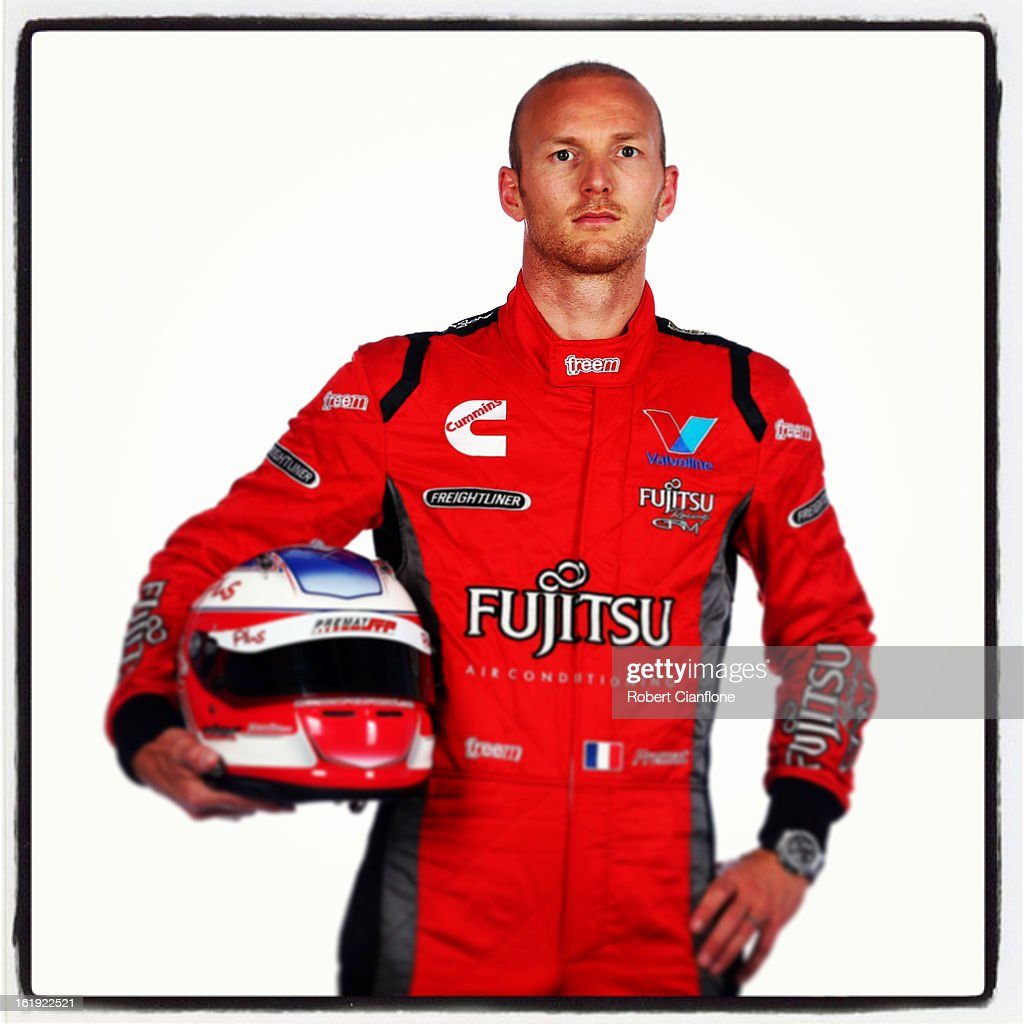 Alex Premat of Garry Rogers Motorsport poses during a V8 Supercars driver portrait session at Eastern Creek on February 15, 2013 in Sydney, Australia.