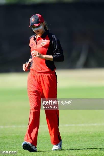 Alex Price during the WNCL match between South Australia and Tasmania at Adelaide Oval No2 on October 8 2017 in Adelaide Australia
