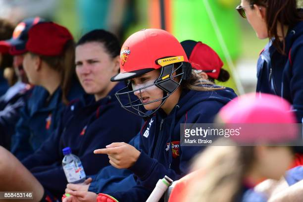 Alex Price during the WNCL match between South Australia and Western Australia at Adelaide Oval No2 on October 6 2017 in Adelaide Australia