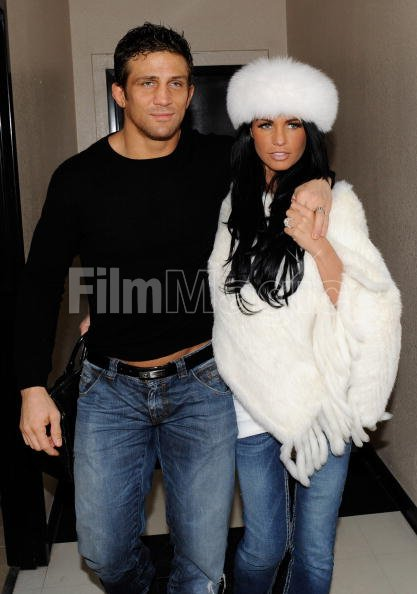 Alex Reid And Katie Price Are Seen With Wedding Rings On