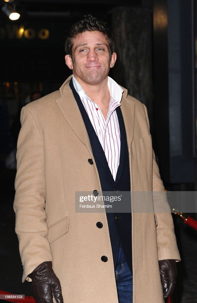 Alex Reid attends the UK Premiere of 'UFO' on December 13, 2012 in London, England.