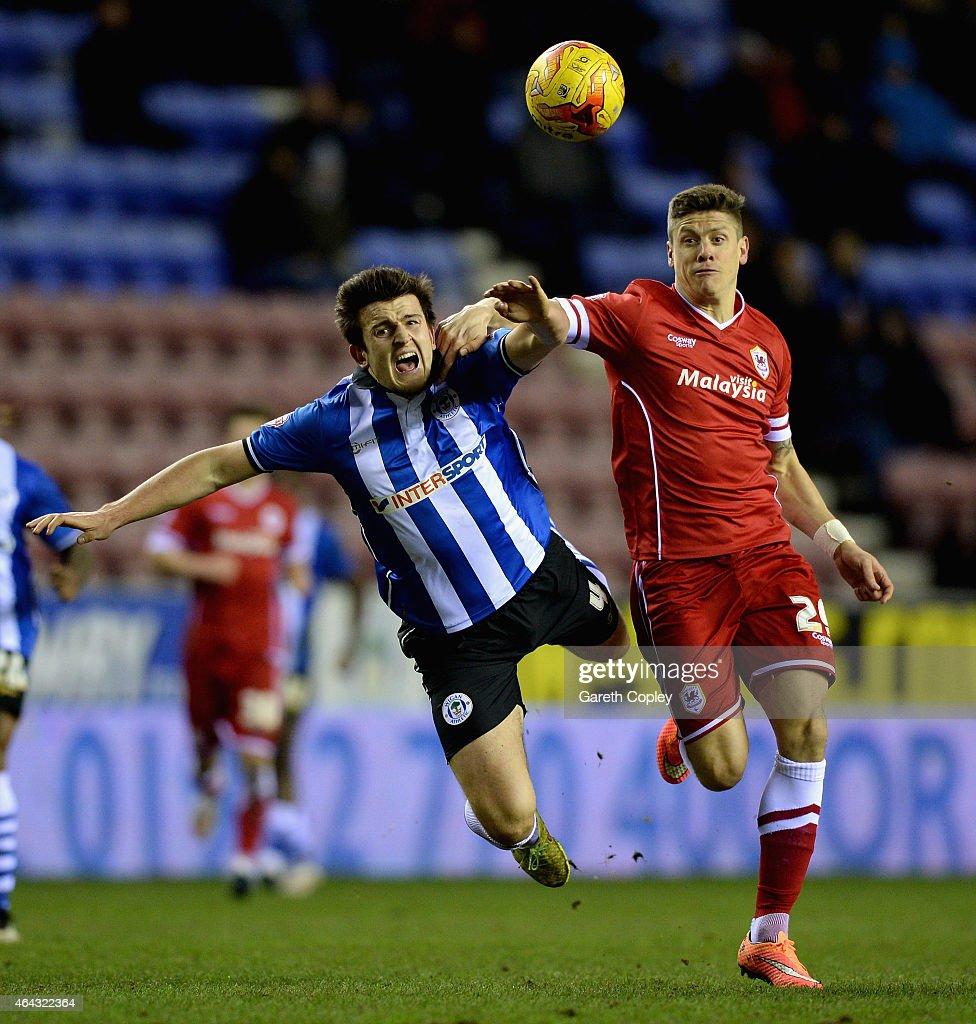 Wigan Athletic v Cardiff City - Sky Bet Championship