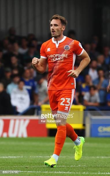 Alex Rodman of Shrewsbury Town celebrates scoring during the Sky Bet League One match between AFC Wimbledon and Shrewsbury Town at The Cherry Red...