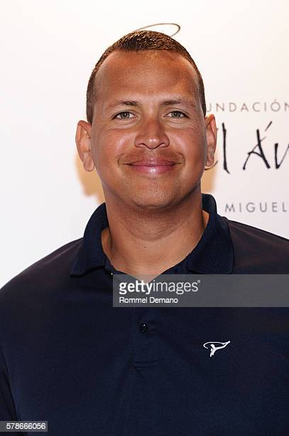 Alex Rodriguez attends 2016 Roc Nation Summer Classic Charity Basketball Tournament at Barclays Center of Brooklyn on July 21 2016 in the Brooklyn...