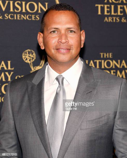 Alex Rodriguez attends the 38th Sports Emmy Awards at Jazz at Lincoln Center on May 9 2017 in New York City
