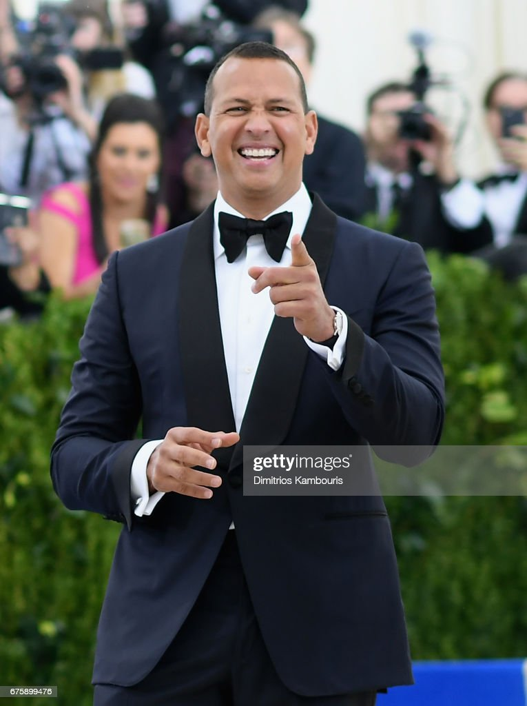 Alex Rodriguez attends the 'Rei Kawakubo/Comme des Garcons: Art Of The In-Between' Costume Institute Gala at Metropolitan Museum of Art on May 1, 2017 in New York City.
