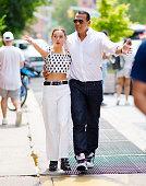 Celebrity Sightings In New York City - June 21, 2021