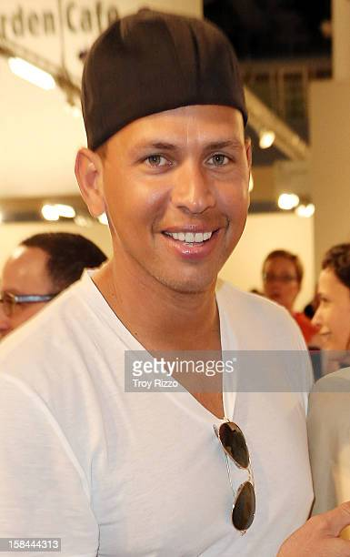 Alex Rodriguez is sighted during Art Basel Miami at the Miami Beach Convention Center on December 7 2012 in Miami Beach Florida
