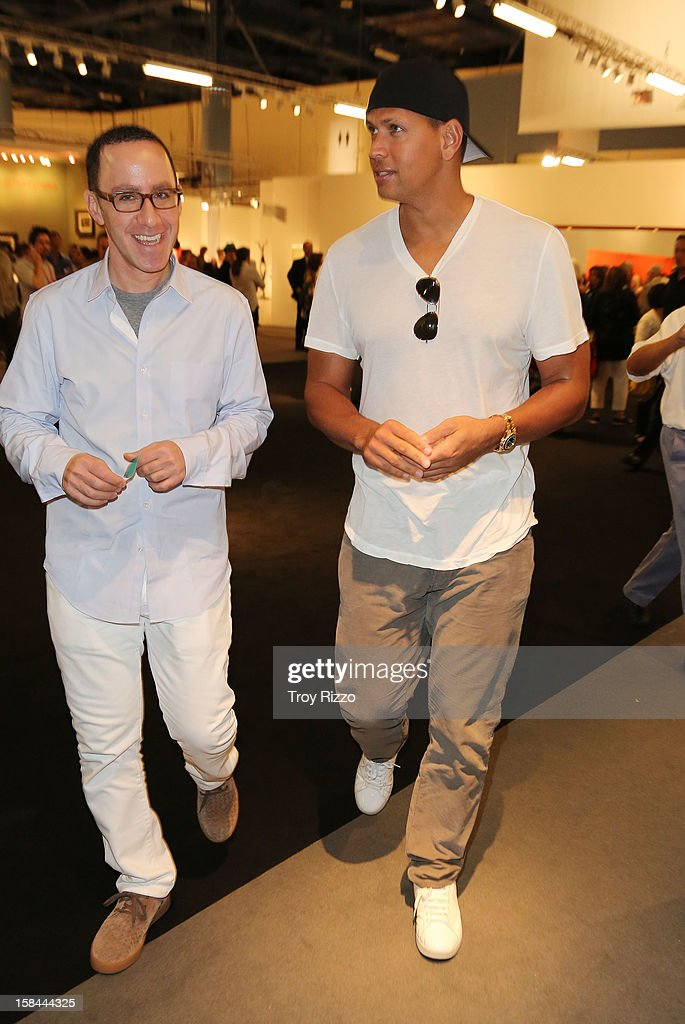 Alex Rodriguez is sighted during Art Basel Miami at the Miami Beach Convention Center on December 7, 2012 in Miami Beach, Florida.