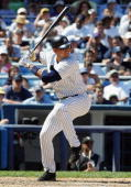 Alex Rodriguez of the New York Yankees bats against the Chicago White Sox on July 16 2006 at Yankee Stadium in the Bronx borough of New York City The...