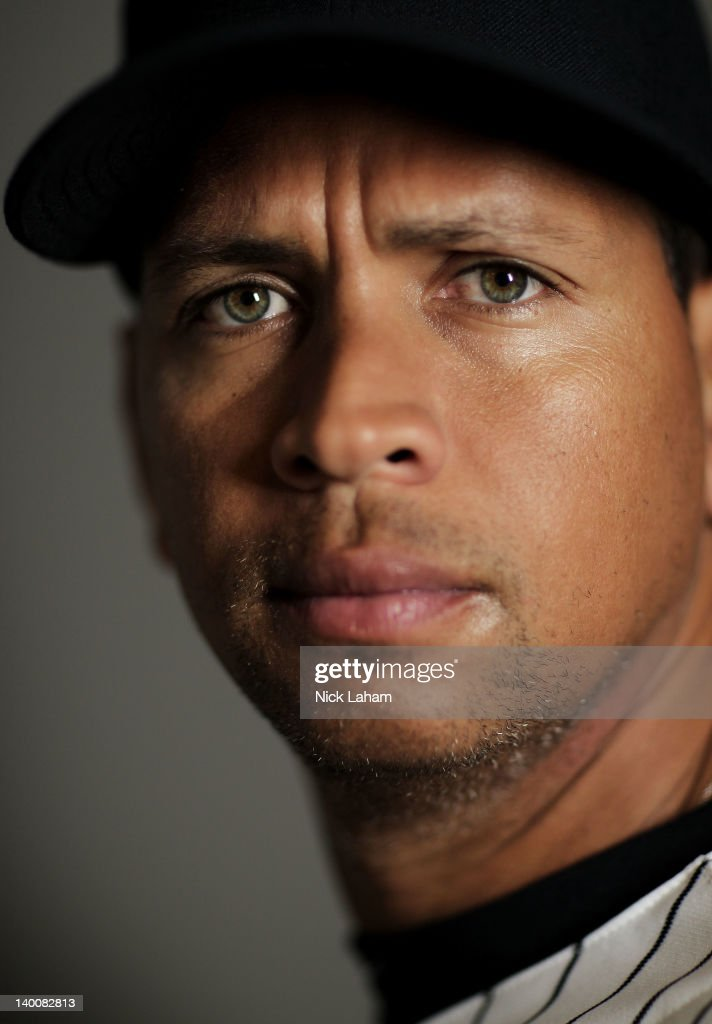 <a gi-track='captionPersonalityLinkClicked' href=/galleries/search?phrase=Alex+Rodriguez+-+Baseball+Player&family=editorial&specificpeople=167080 ng-click='$event.stopPropagation()'>Alex Rodriguez</a> #13 of the New York Yankees poses for a portrait during the New York Yankees Photo Day on February 27, 2012 in Tampa, Florida.