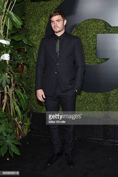 Alex Roe attends the GQ 20th Anniversary Men Of The Year Party at Chateau Marmont on December 3 2015 in Los Angeles California