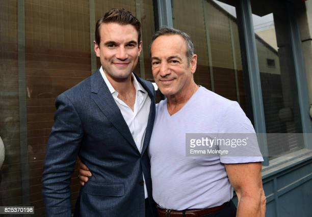 Alex Russell and Peter Onorati attend the 2017 Summer TCA Tour CBS Television Studios' Summer Soiree at CBS Studios Radford on August 1 2017 in...