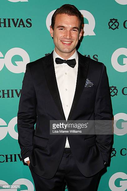 Alex Russell arrives for the GQ Men Of The Year Awards 2014 at The Ivy on November 19 2014 in Sydney Australia
