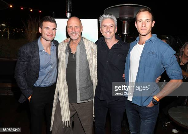 Alex Russell Yossi Ginsberg Greg McLean and Joel Jackson attend a Screening Of 'Jungle' at EP LP on October 17 2017 in West Hollywood California