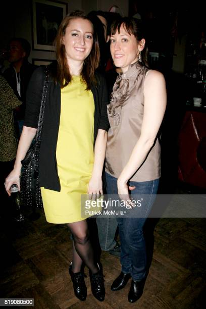 Alex Salkeld and Lauren Salkeld attend STYLECASTER COTY and CARMINDY host a launch party for 'CRAZY BUSY BEAUTIFUL' at Norwood on March 25 2010 in...