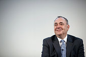Alex Salmond Scotland's first minister sits and listens during the Commonwealth Games Business Conference in Glasgow UK on Tuesday July 22 2014...
