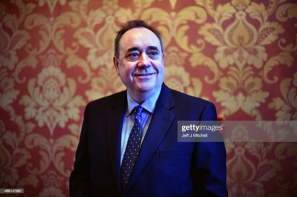 <a gi-track='captionPersonalityLinkClicked' href=/galleries/search?phrase=Alex+Salmond&family=editorial&specificpeople=857688 ng-click='$event.stopPropagation()'>Alex Salmond</a>, the SNP candidate for the Gordon constituency attends a hustings event on the first day of the British General Election campaign on March 30, 2015 in Ellon, Scotland. Campaigning in what is predicted to be Britain's closest national election in decades has started after after Queen Elizabeth II dissolved Parliament today. Election day is on May 7, 2015.