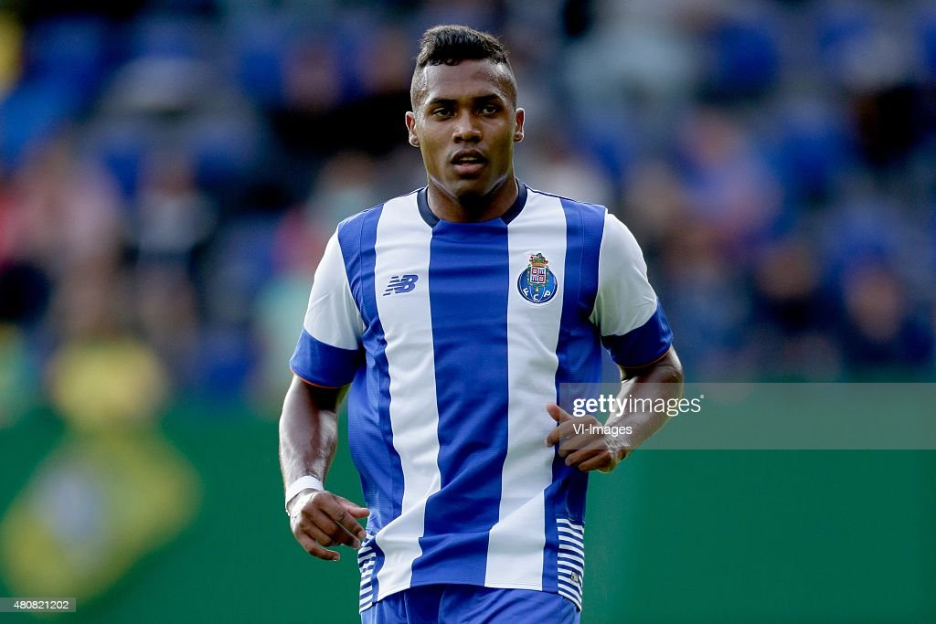 Alex Sandro of FC Porto during the International friendly match between Fortuna Sittard and FC Porto on July 15, 2015 at the Trendwork Arena in Sittard, The Netherlands.
