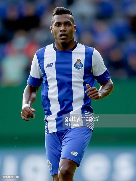 Alex Sandro of FC Porto during the International friendly match between Fortuna Sittard and FC Porto on July 15 2015 at the Trendwork Arena in...