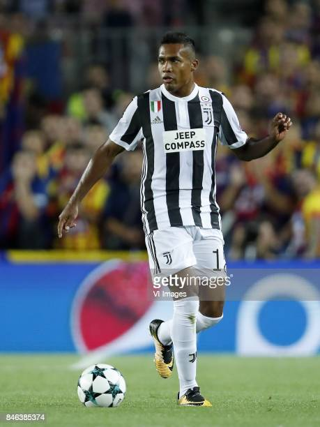 Alex Sandro of Juventus FC during the UEFA Champions League group D match between FC Barcelona and Juventus FC on September 12 2017 at the Camp Nou...