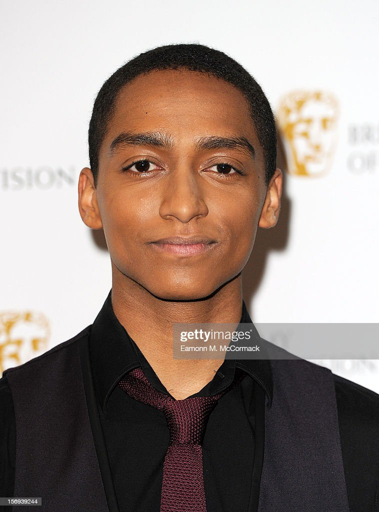 Alex Sawyer of Nickelodeon's House of Anubis attends 2012 Children's BAFTA Awards at Hilton Park Lane on November 25, 2012 in London, England.