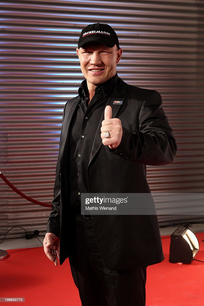 Alex Schulz attends the 'RTL Spendenmarathon' at RTL Studio Huerth on November 22, 2012 in Cologne, Germany.