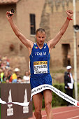 Alex Schwazer wins the 50KM Race Walk at IAAF Race Walking Team Campionship Rome 2016 on May 7 2016 in Rome Italy