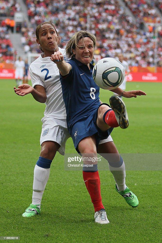 England v France: FIFA Women's World Cup 2011 - Quarter Finals