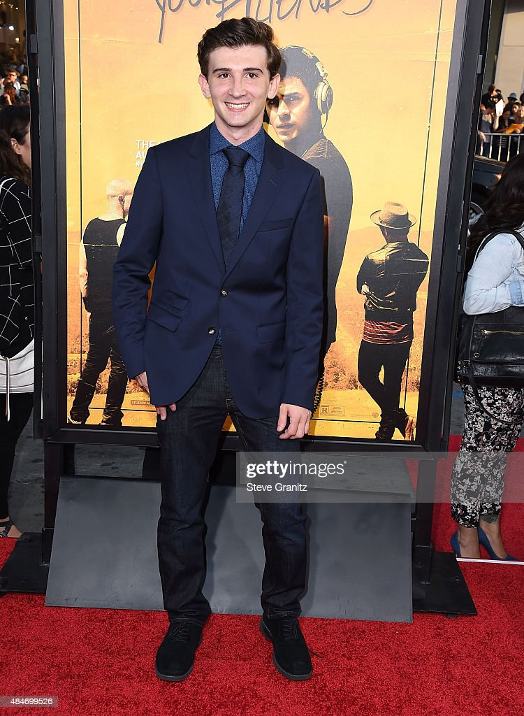 Alex Shaffer arrives at the Premiere Of Warner Bros Pictures' 'We Are Your Friends' at TCL Chinese Theatre on August 20 2015 in Hollywood California
