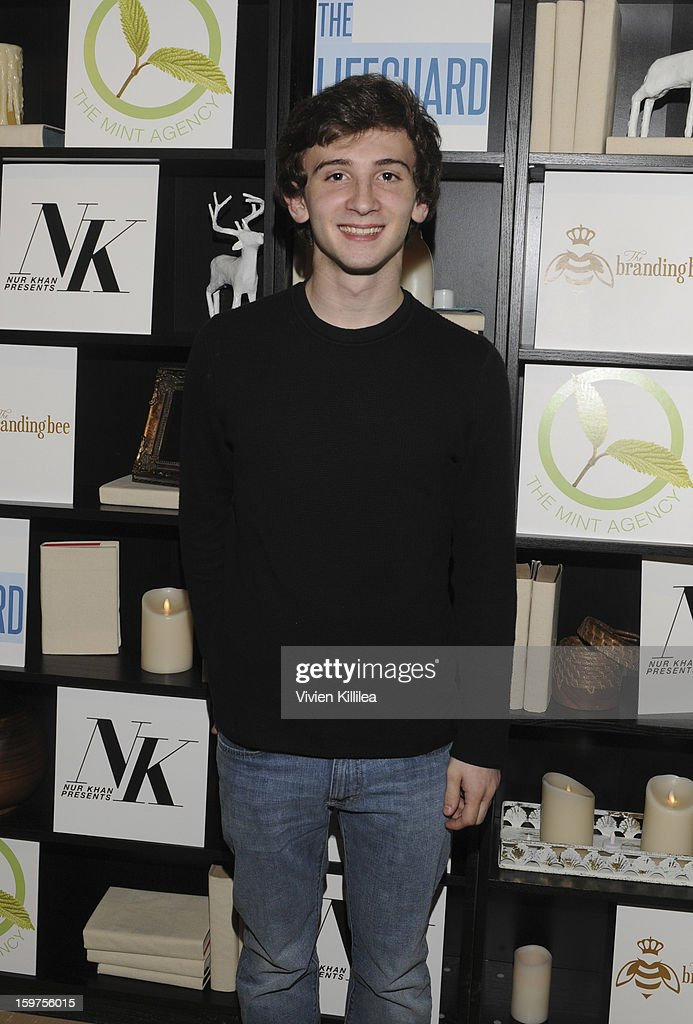 Alex Shaffer attends 'The Lifeguard' Premiere after party on January 19, 2013 in Park City, Utah.