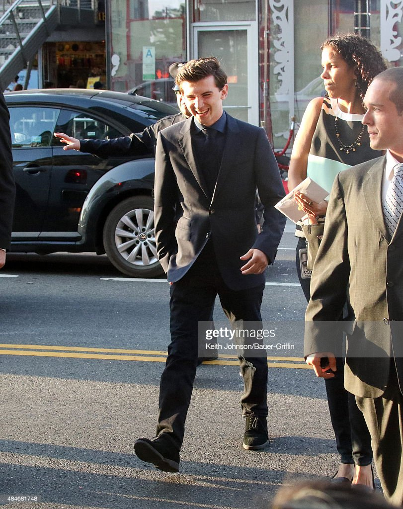 Alex Shaffer is seen on August 20 2015 in Los Angeles California