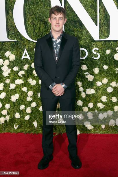 Alex Sharp attends the 71st Annual Tony Awards at Radio City Music Hall on June 11 2017 in New York City