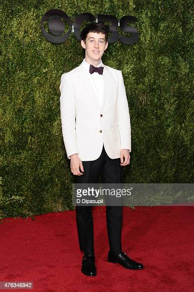 Alex Sharp attends the American Theatre Wing's 69th Annual Tony Awards at Radio City Music Hall on June 7 2015 in New York City