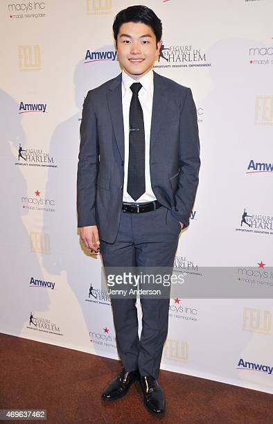 Alex Shibutani attends the 10th Annual Skating With The Stars Benefit Gala at 583 Park Avenue on April 13 2015 in New York City