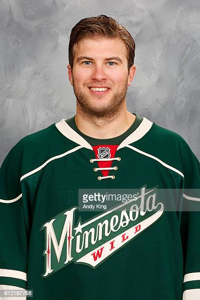 Alex Stalock of the Minnesota Wild poses for his official headshot for the 20162017 season on September 22 2016 at the Xcel Energy Center in St Paul...