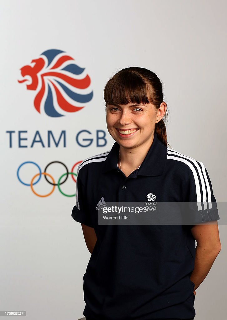 Alex Stanley of the British Winter Olympic Short Track Speed Skating Team poses for a portrait during the Team GB Winter Olympic Media Summit at Bath University on August 9, 2013 in Bath, England.