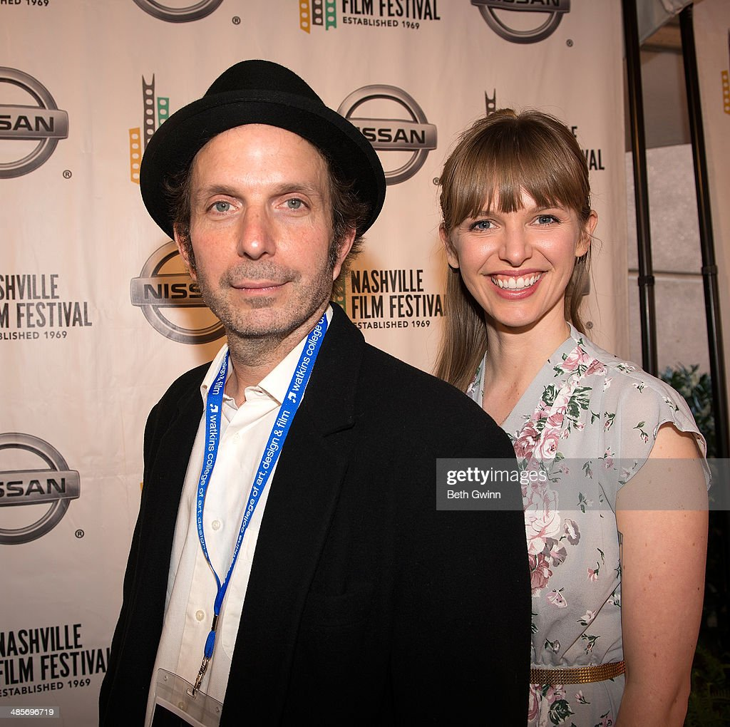 Alex Steyermark and Lavinia Jones Wright of the film 'The 78 Project Movie' attend day 3 of the 2014 Nashville Film Festival at Regal Green Hills on April 19, 2014 in Nashville, Tennessee.