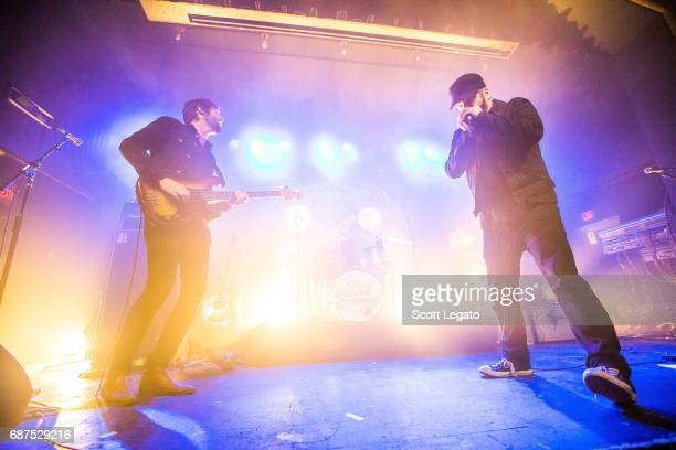 Alex Stiff Marc Cazorla and Chris Vos of The Record Company perform at St Andrews Hall on May 23 2017 in Detroit Michigan