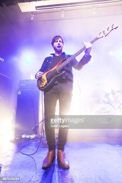 Alex Stiff of The Record Company performs at St Andrews Hall on May 23 2017 in Detroit Michigan