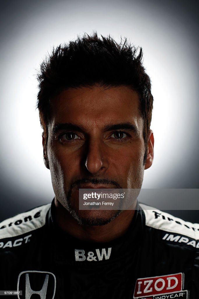 <a gi-track='captionPersonalityLinkClicked' href=/galleries/search?phrase=Alex+Tagliani&family=editorial&specificpeople=220628 ng-click='$event.stopPropagation()'>Alex Tagliani</a> driver of the #77 FAZZT Racing Honda poses for a portrait during the IRL Indy Car Series Media Day at Barber Motorsports Park on February 23, 2009 in Leeds, Alabama.