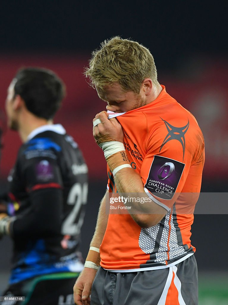 Ospreys v Newcastle Falcons - European Rugby Challenge Cup