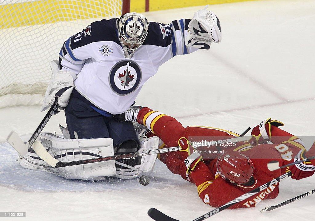 Winnipeg Jets v Calgary Flames